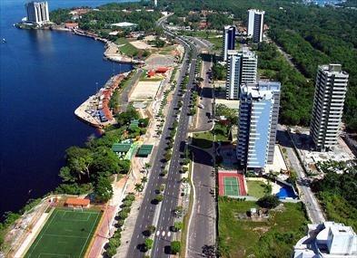 Um trânsito conhecido como Manauara, em Manaus