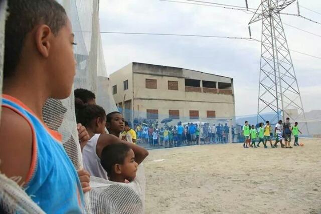 Dia da Paz é celebrado com campeonato de futebol no Alemão