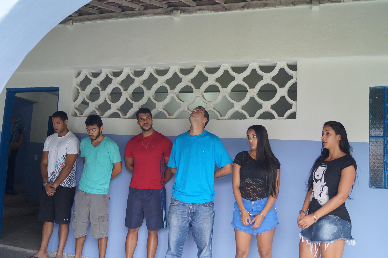 Deic prende acusados de tráfico de drogas sintéticas em Alagoas