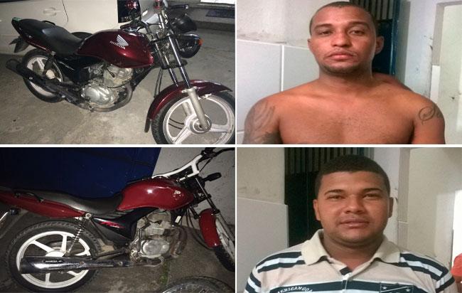 Polícia prende dupla acusada de diversos assaltos na parte baixa de Maceió