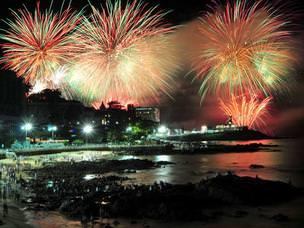 Maceió terá três pontos de queima de fogos e muita festa na virada do Ano Novo