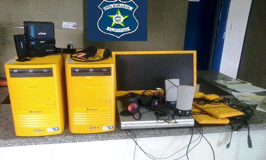 PC recupera objetos que foram furtados da escola municipal de Coqueiro Seco