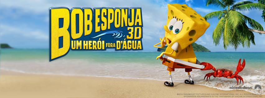 Filme do 'Bob Esponja' estréia nesta quinta-feira no Cinema da Nova Brasília