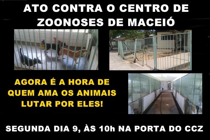 Defensores de animais marcam ato público na porta do CCZ para segunda-feira (9)