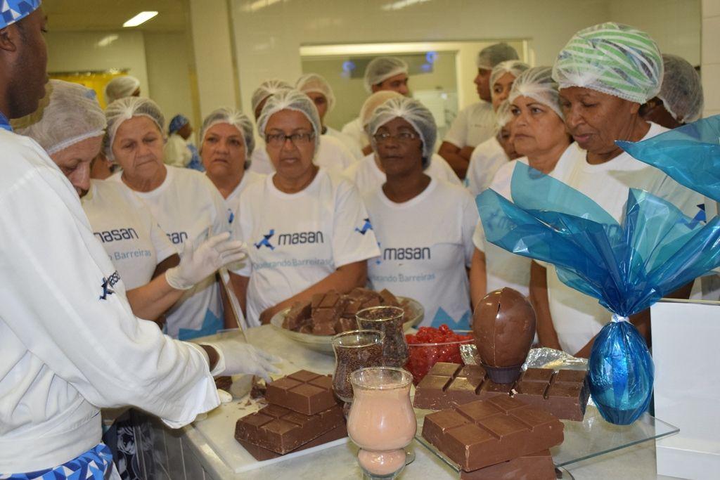 Masan promove oficina de Páscoa para moradores de comunidades pacificadas