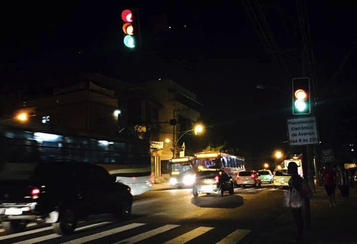 Estrada do Itararé está sem luz há mais de dois dias