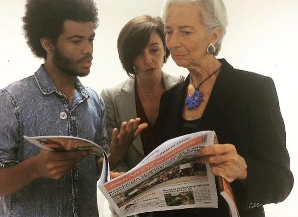 Diretora-Gerente do FMI visita o Complexo do Alemão