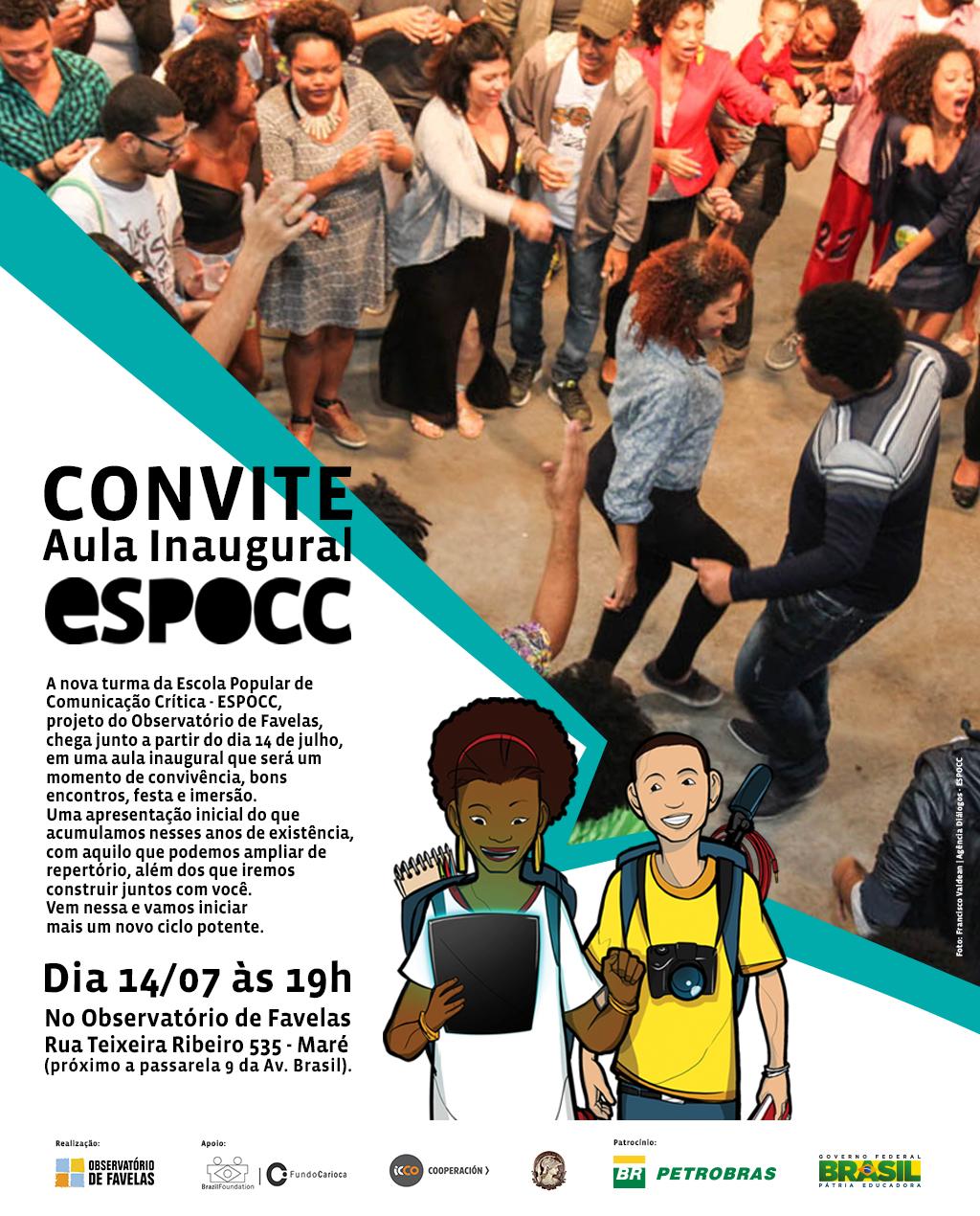 ESPOCC convida: Aula inaugural do curso de Publicidade Afirmativa