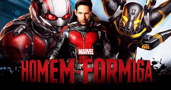 Filme 'Homem Formiga' estréia amanhã (16/07) no cinema da Nova Brasília