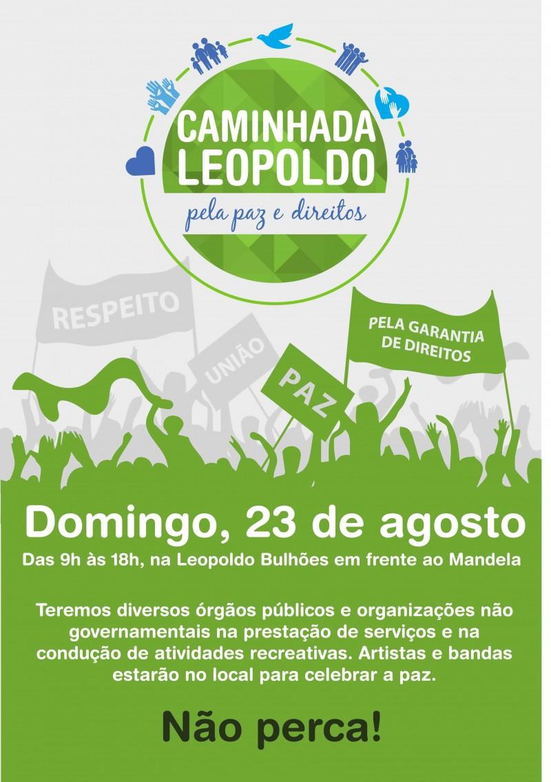 Rio+Social apoia Caminhada da Paz em Manguinhos