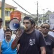 Raull Santiago, um dos organizadores da manifestação. - Foto: Renato Moura