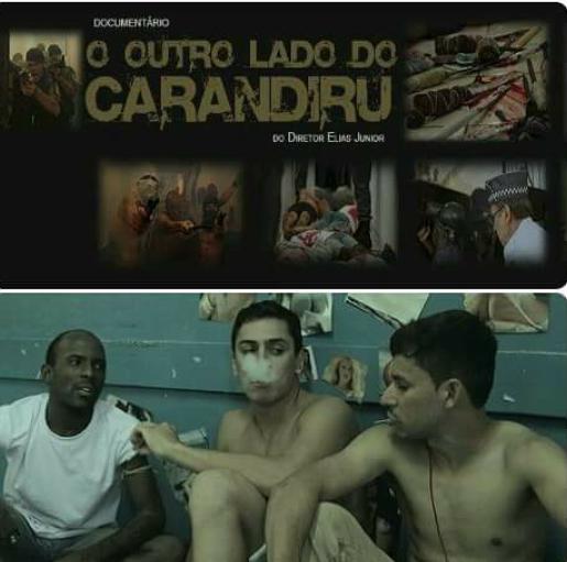 """Erick Cesar, ator no documentário """"O outro lado do Carandiru"""" para o Voz da Comunidade"""