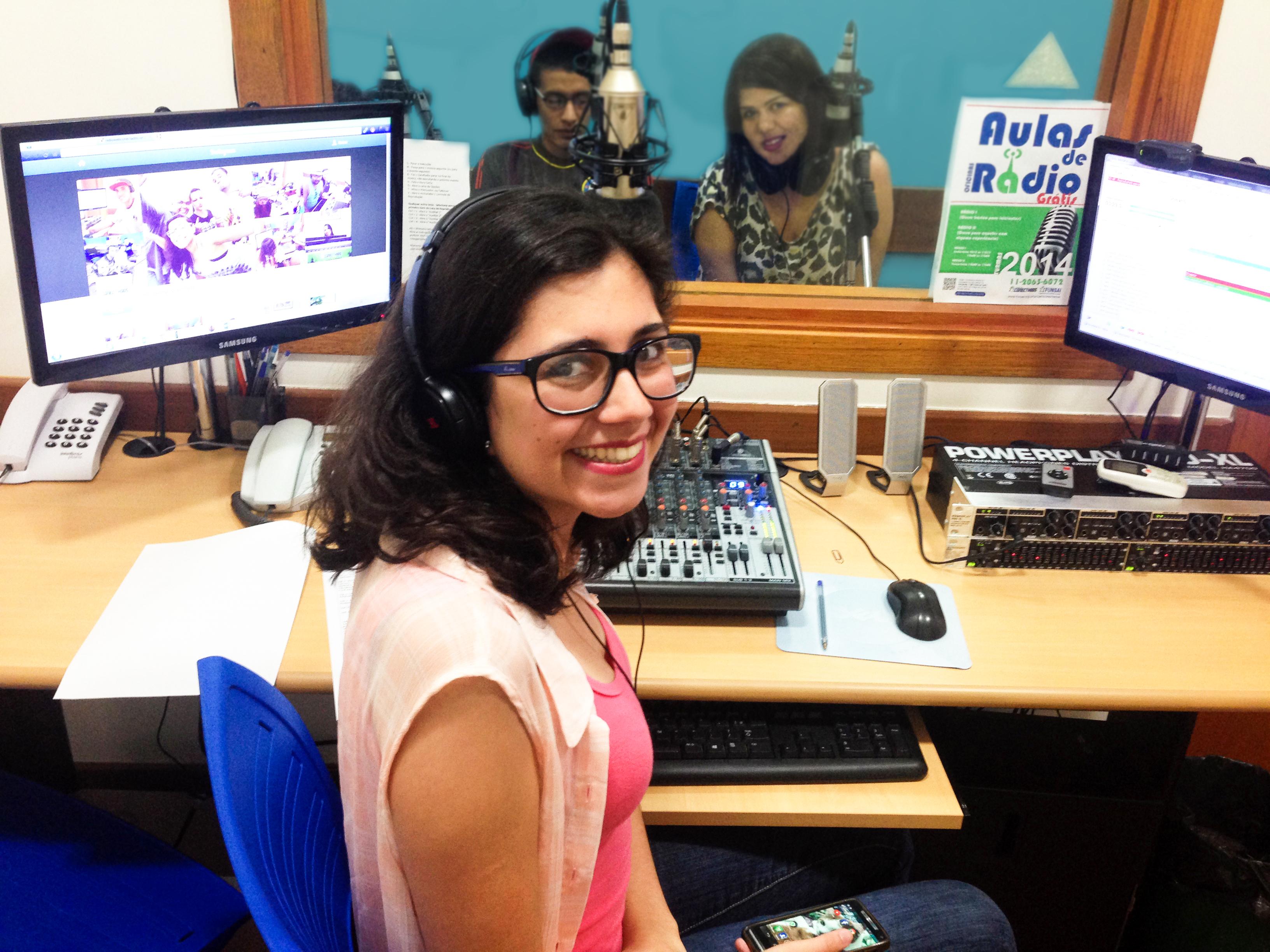 SP: Inscrições abertas para as oficinas de rádio – Turmas de 2016