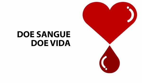 Seja um doador de sangue, salve vidas!