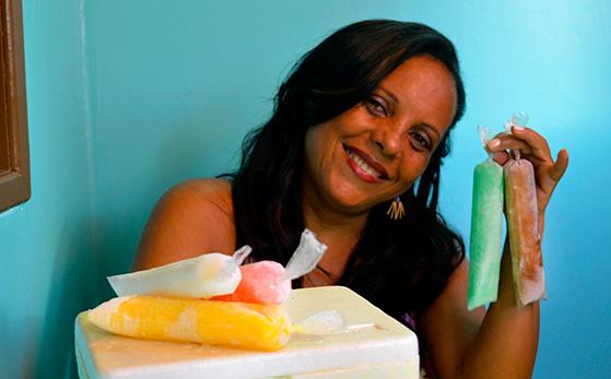 Empreendedora do Nordeste fatura R$ 1.000 reais por mês vendendo geladinho