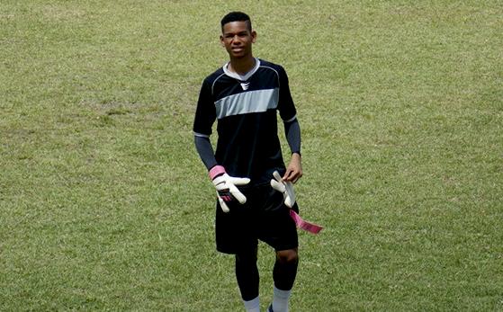 Claudiney Araujo, o goleiro profissional do Nordeste de Amaralina