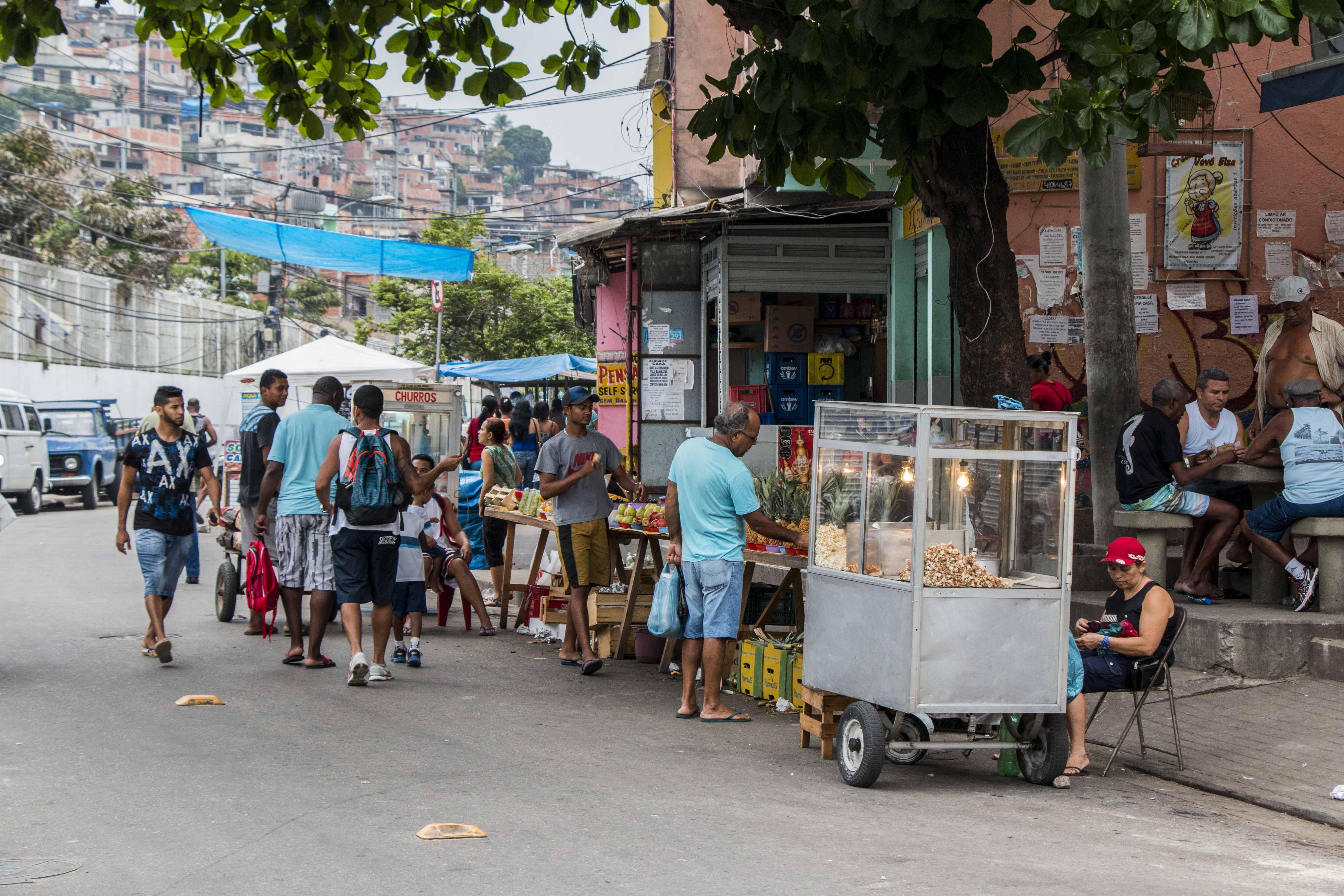 A favela é a crise existencial do Brasil