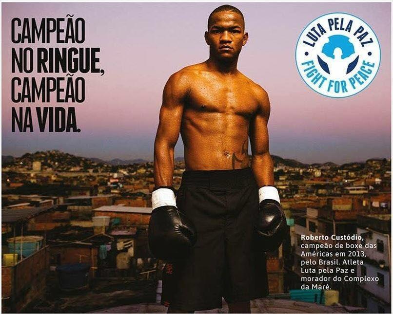 Um papo relíquia com Roberto Custódio, atleta da Seleção Brasileira de boxe e morador da Maré