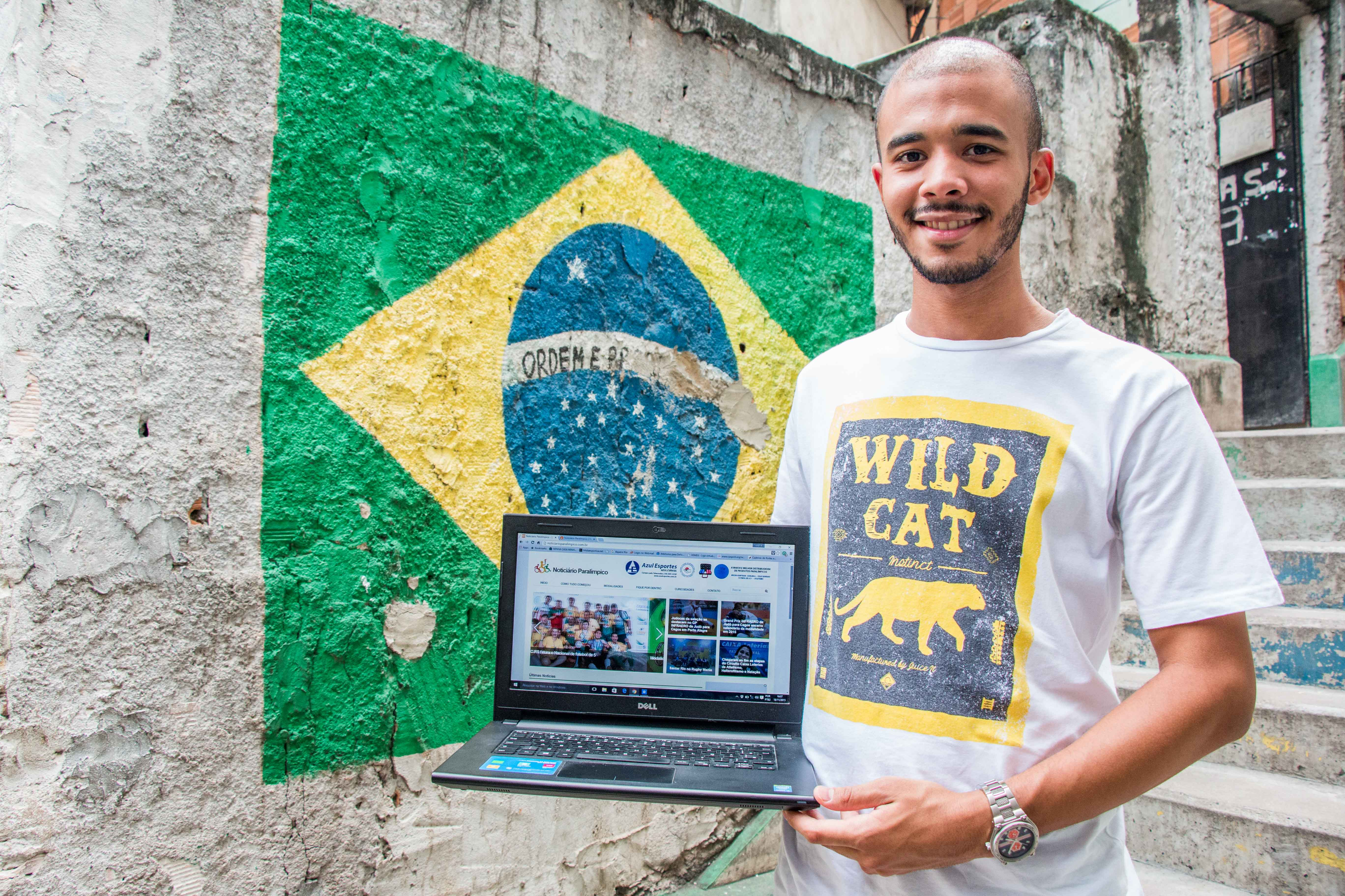 Criador do primeiro portal paralímpico do país faz vaquinha online para custear cobertura dos Jogos