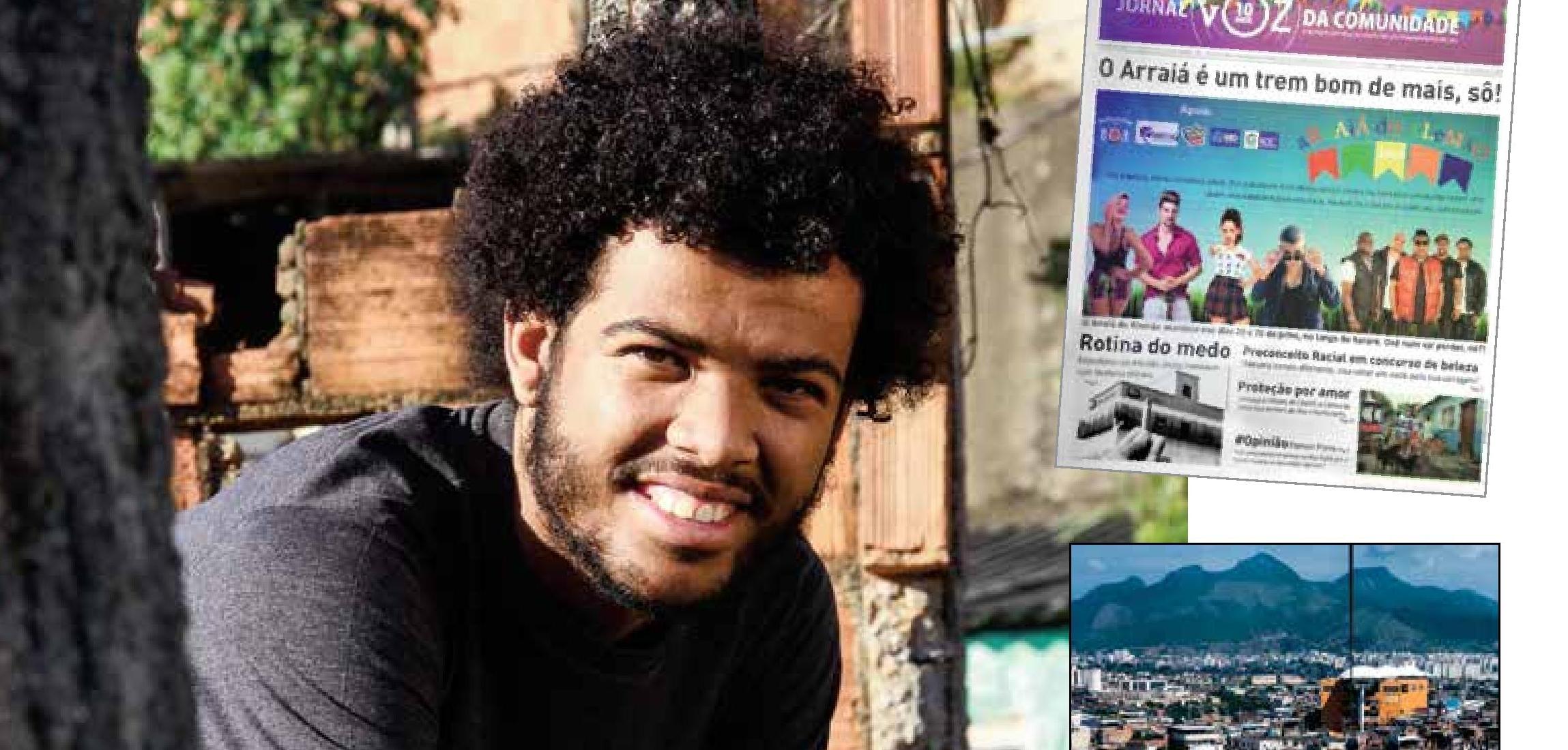 Fundador do Voz da Comunidade é cotado como um dos 4 jovens que vão mudar o mundo pelo Jornal The New York Times