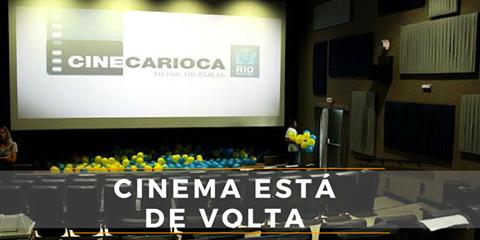 Cinema da Nova Brasília volta a funcionar e com novo preço