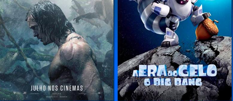 Programação do cinema da Nova Brasília do dia 11 até 17 de agosto