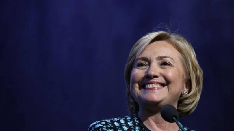 Hillary Clinton faz historia