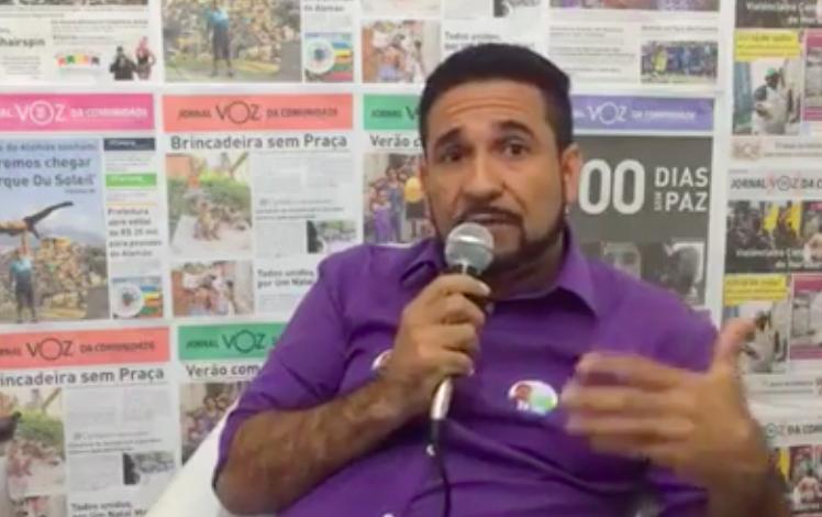Luciano Medeiros encerra sabatina do VOZ contando suas propostas de juventude e esporte