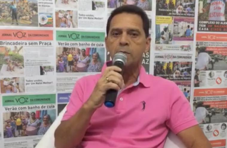 Candidato a vereador, Valmizinho fala em entrevista sobre a sua vida política