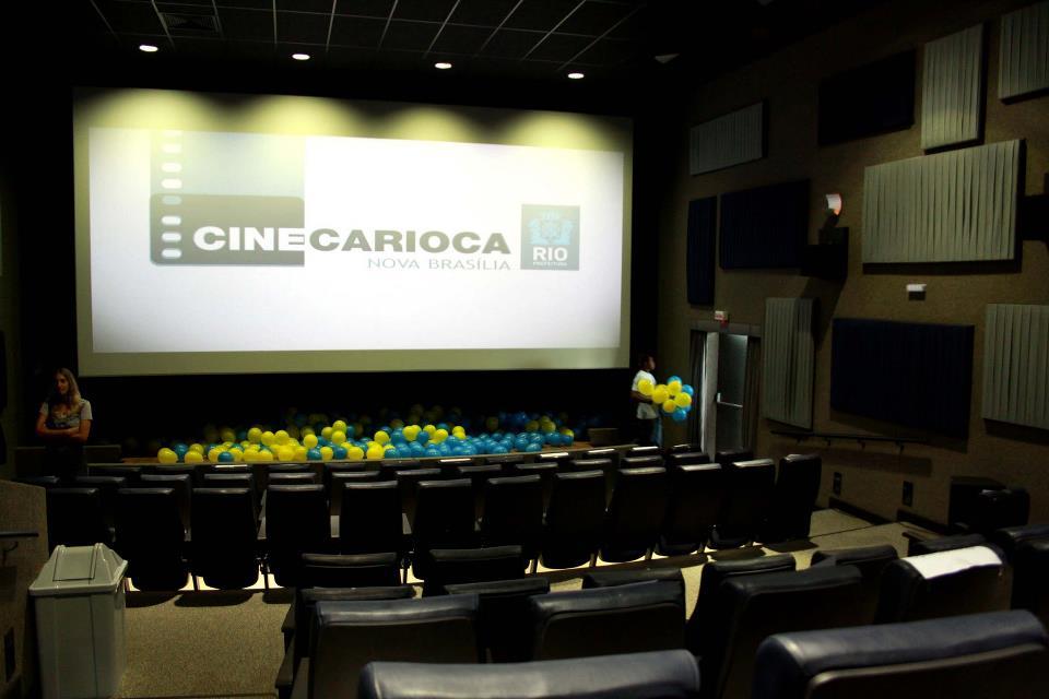 Voz da Comunidade fecha parceria com o cinema da Nova Brasília