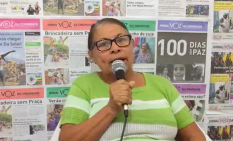 A candidata Mariza Nascimento fala do seu papel na política