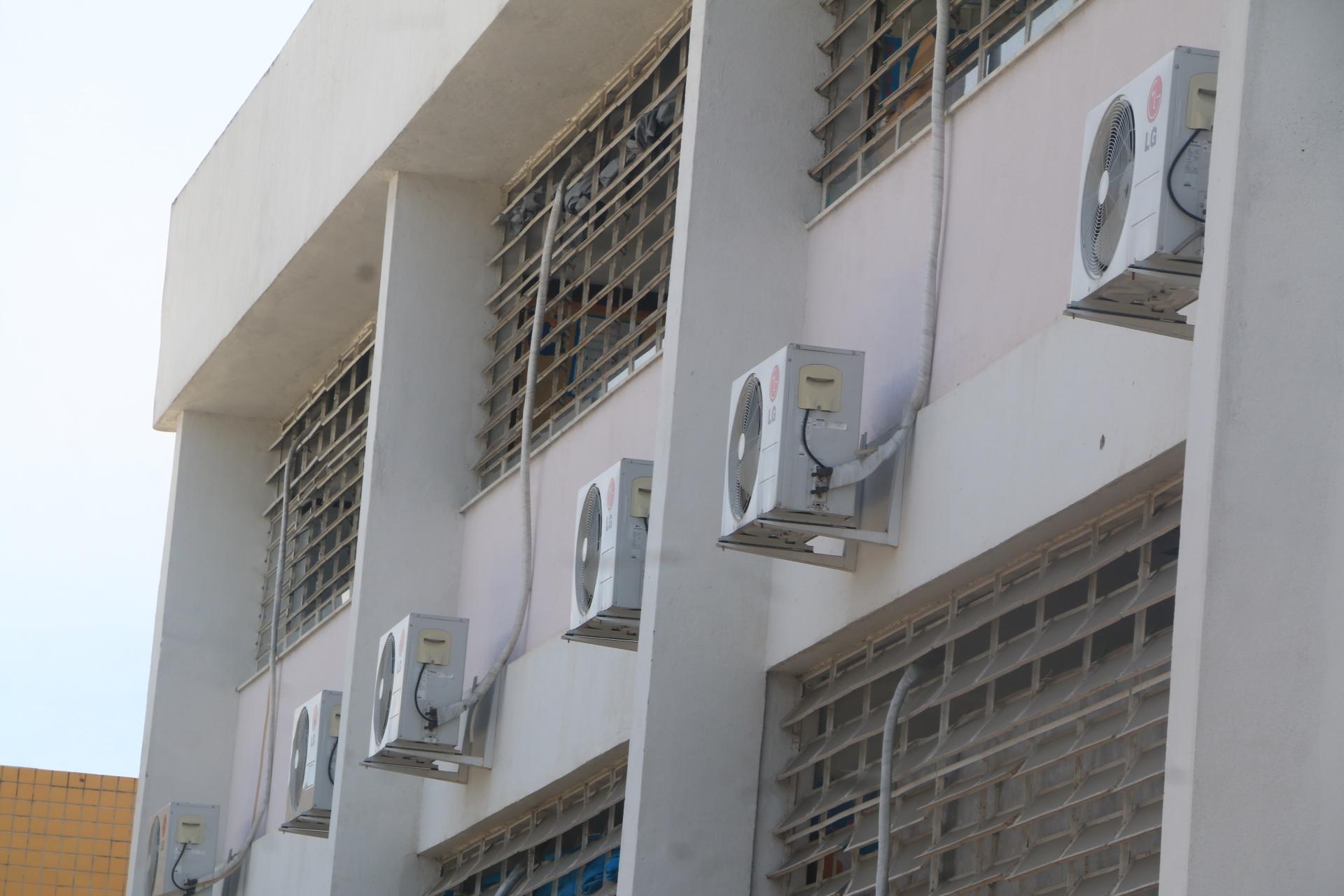 Depois de 2 anos, light finalmente vai ligar os ar-condicionados em escola do Alemão