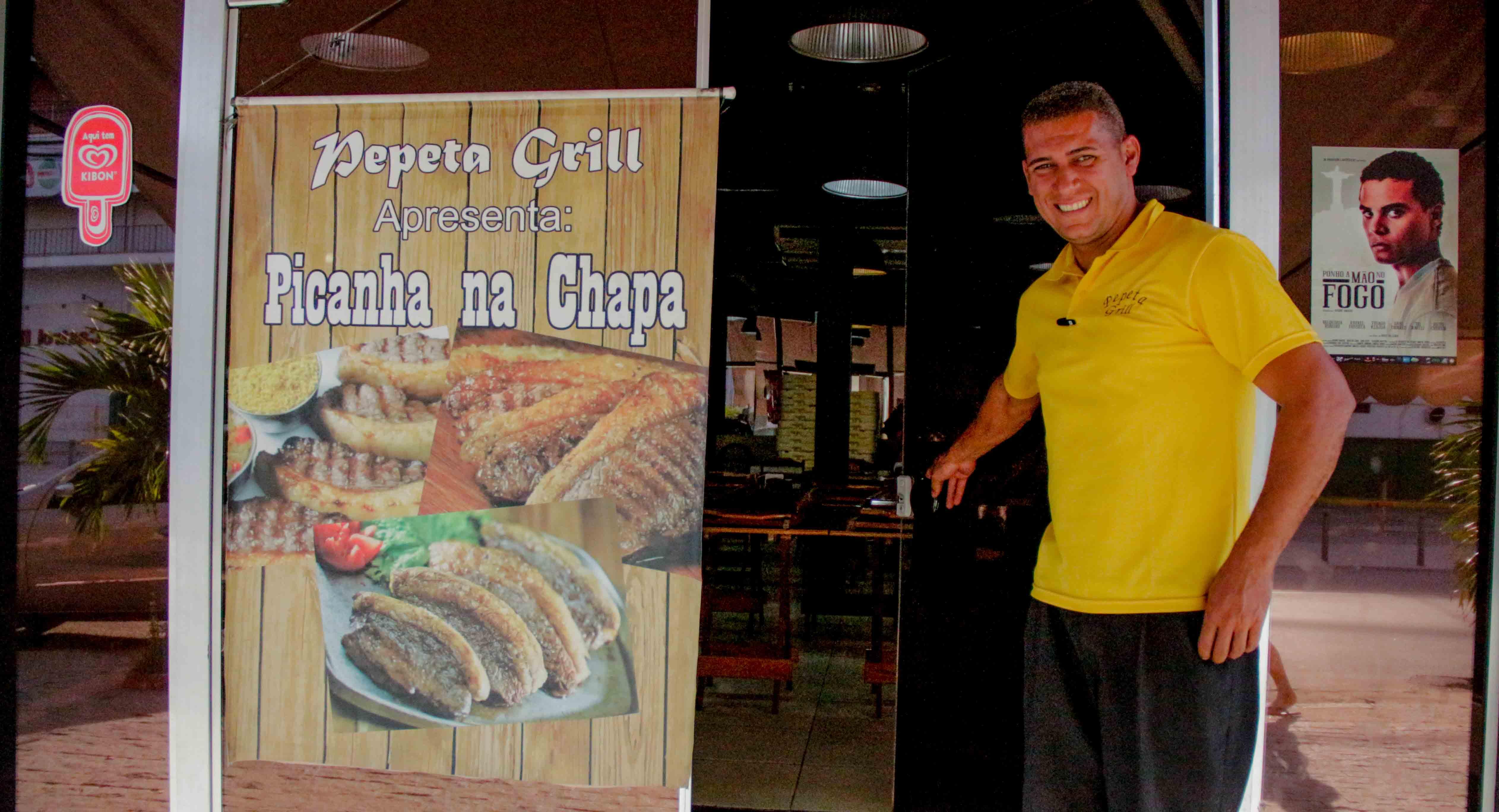 """Pepeta Grill é """"Comida Padrão Excelência"""" do Alemão"""