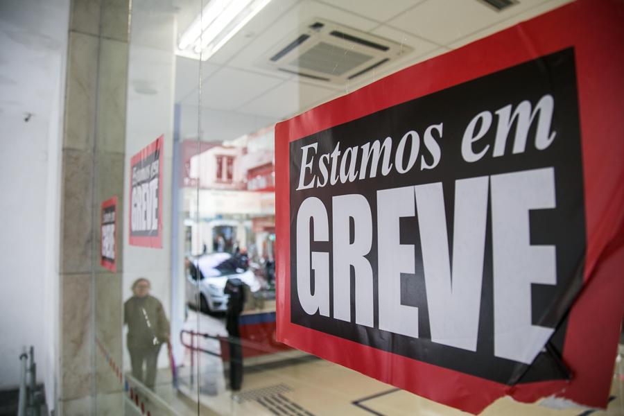 06/09/2016 - PORTO ALEGRE, RS - Bancários em greve. Foto: Maia Rubim/Sul21