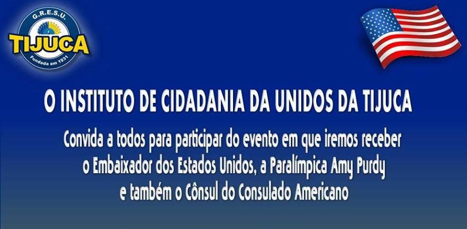 Embaixador dos Estados Unidos e Cônsul do Consulado Americano visitarão o Morro do Borel