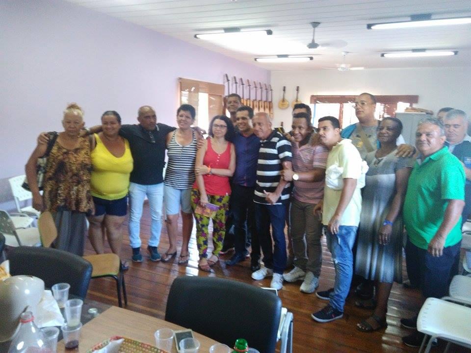 Secretário Municipal de Conservação e Meio Ambiente Rubens Teixeira foi ao Complexo da Maré ouvir Lideranças Comunitárias