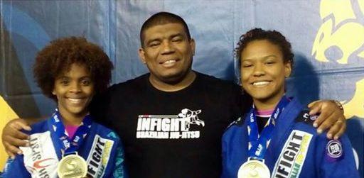 Moradoras da Cidade de Deus conquistam medalha no Pan Kids na Califórnia, EUA