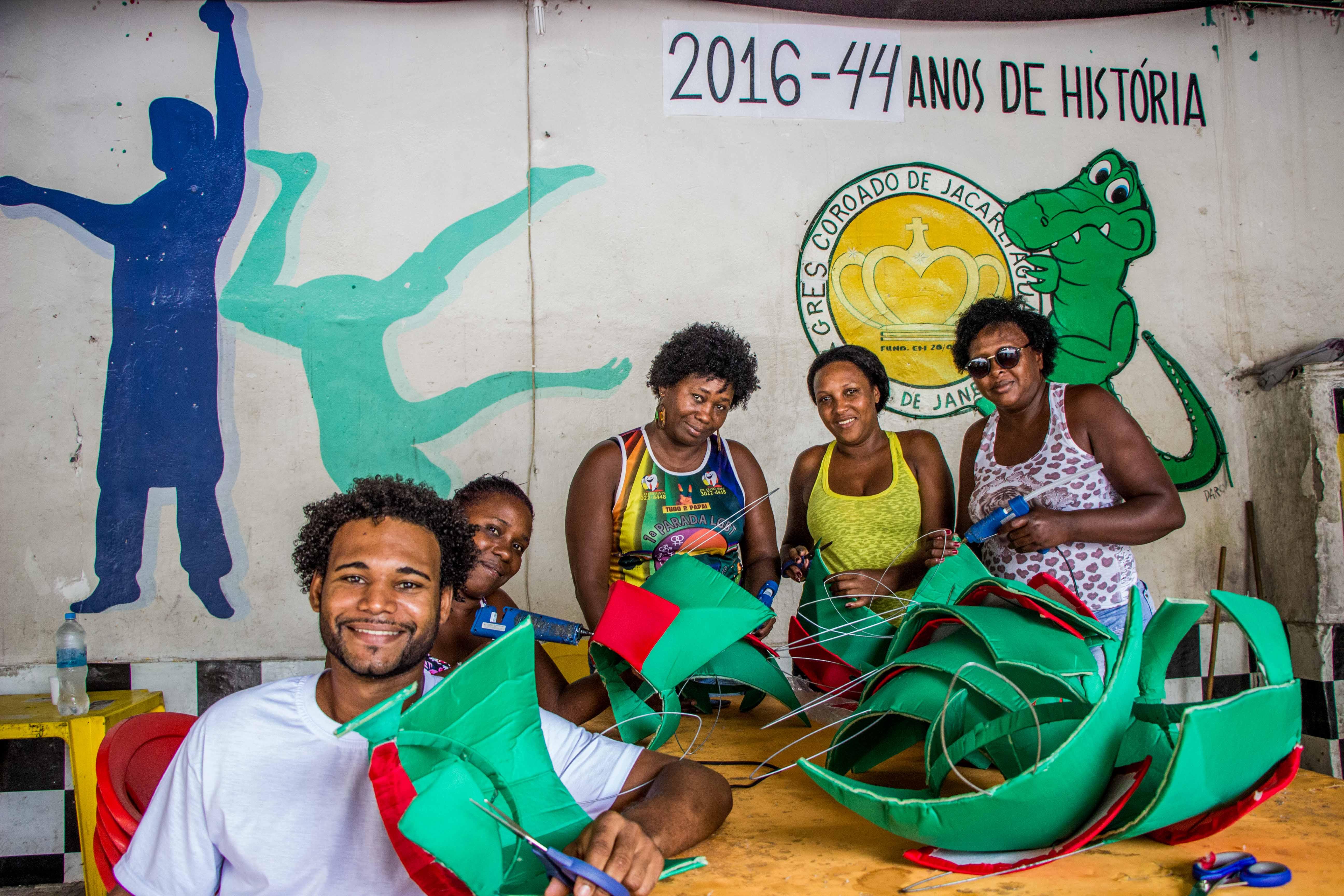 Coroado de Jacarepaguá aposta nas religiões africanas para ser campeã em 2017