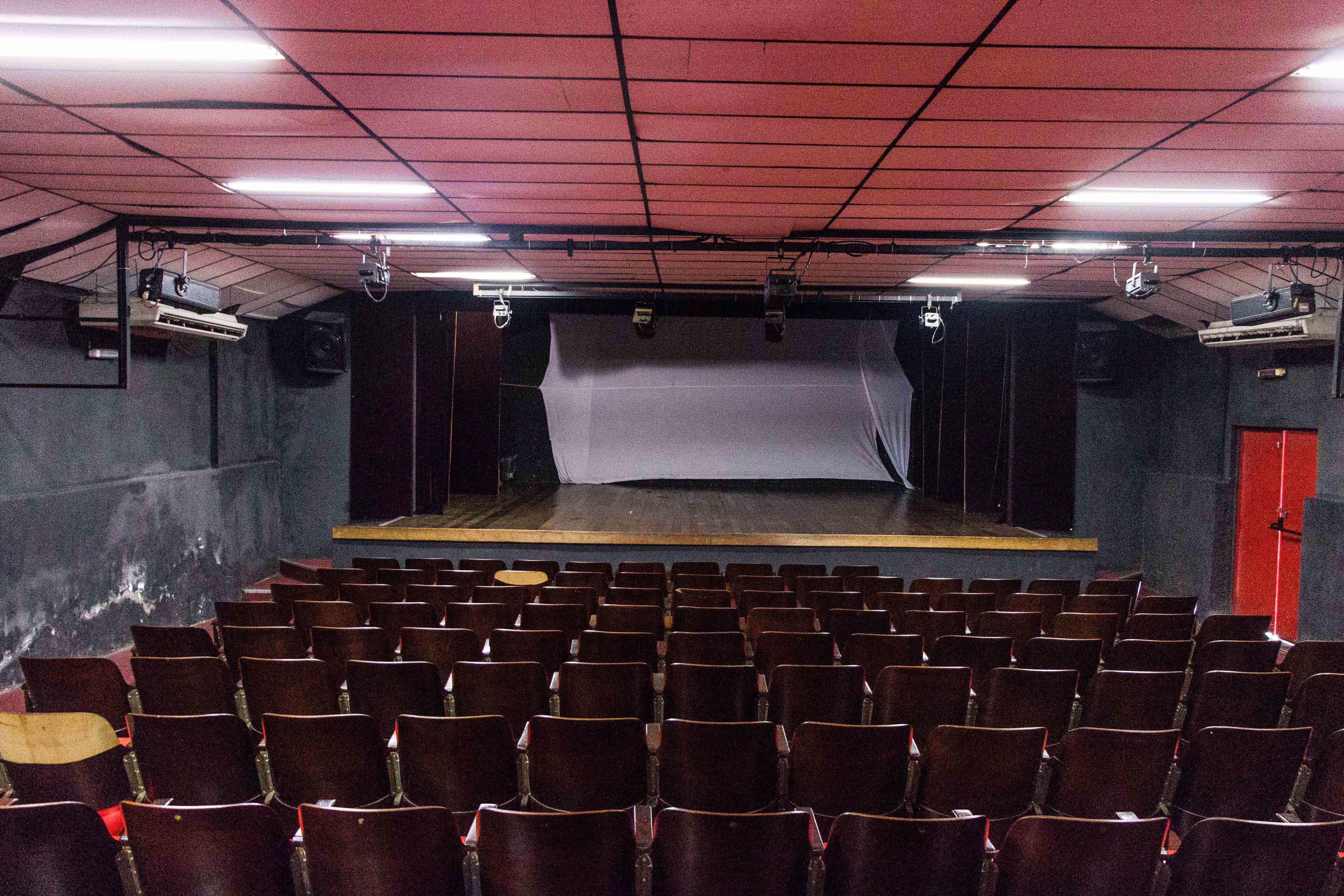 Teatro Mário Lago passa por dificuldades - Foto: Renato Moura/Jornal Voz Das Comunidades