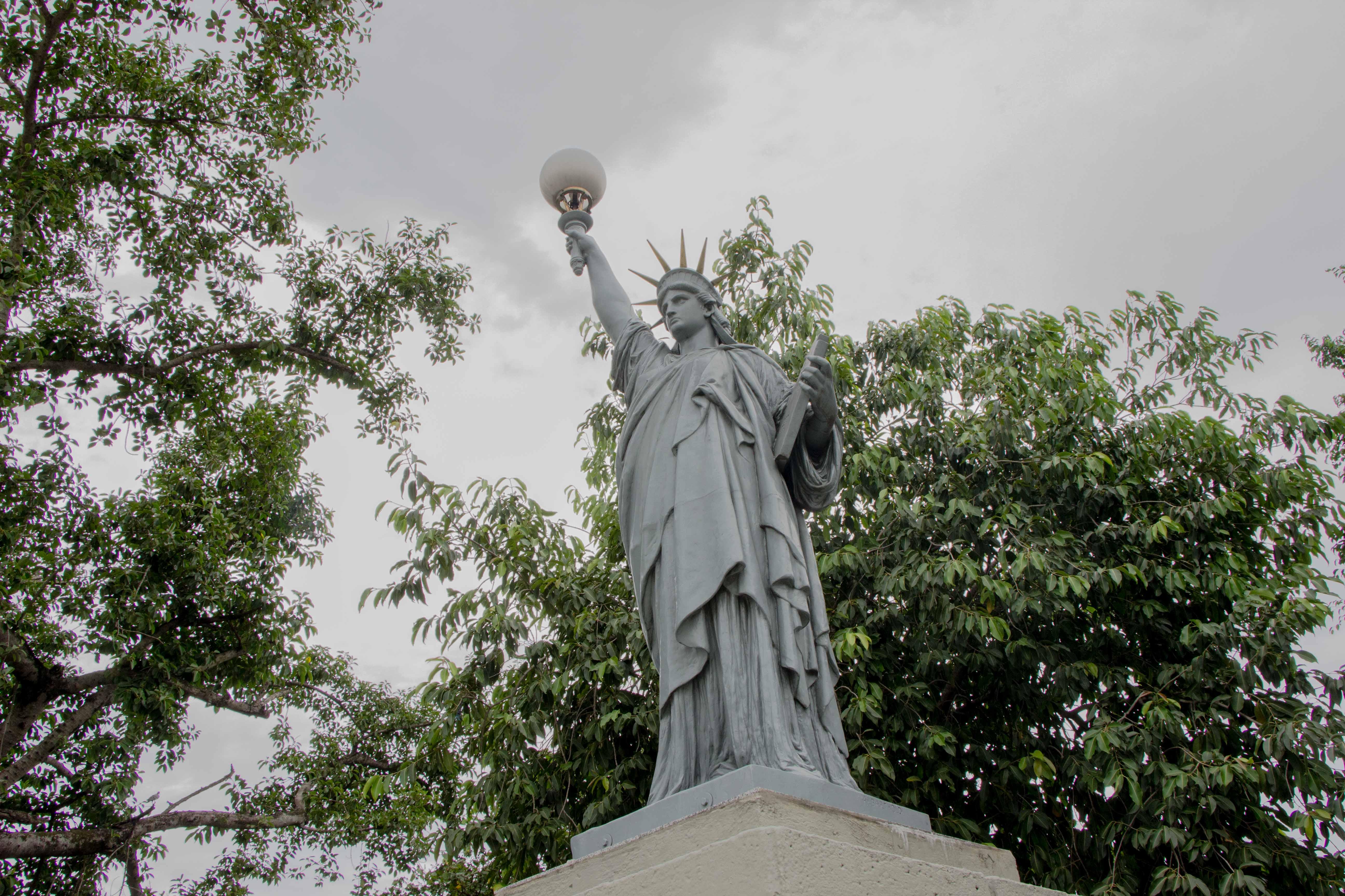 A estátua foi uma encomenda a Bartholdi pela família Paranhos, em 1899, dez anos após a Proclamação da República do Brasil - Foto: Renato Moura/Jornal Voz Das Comunidades