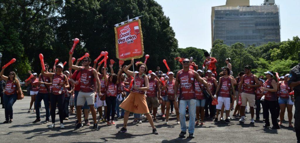 Instituto Masan e Hemorio convocam foliões para doar sangue