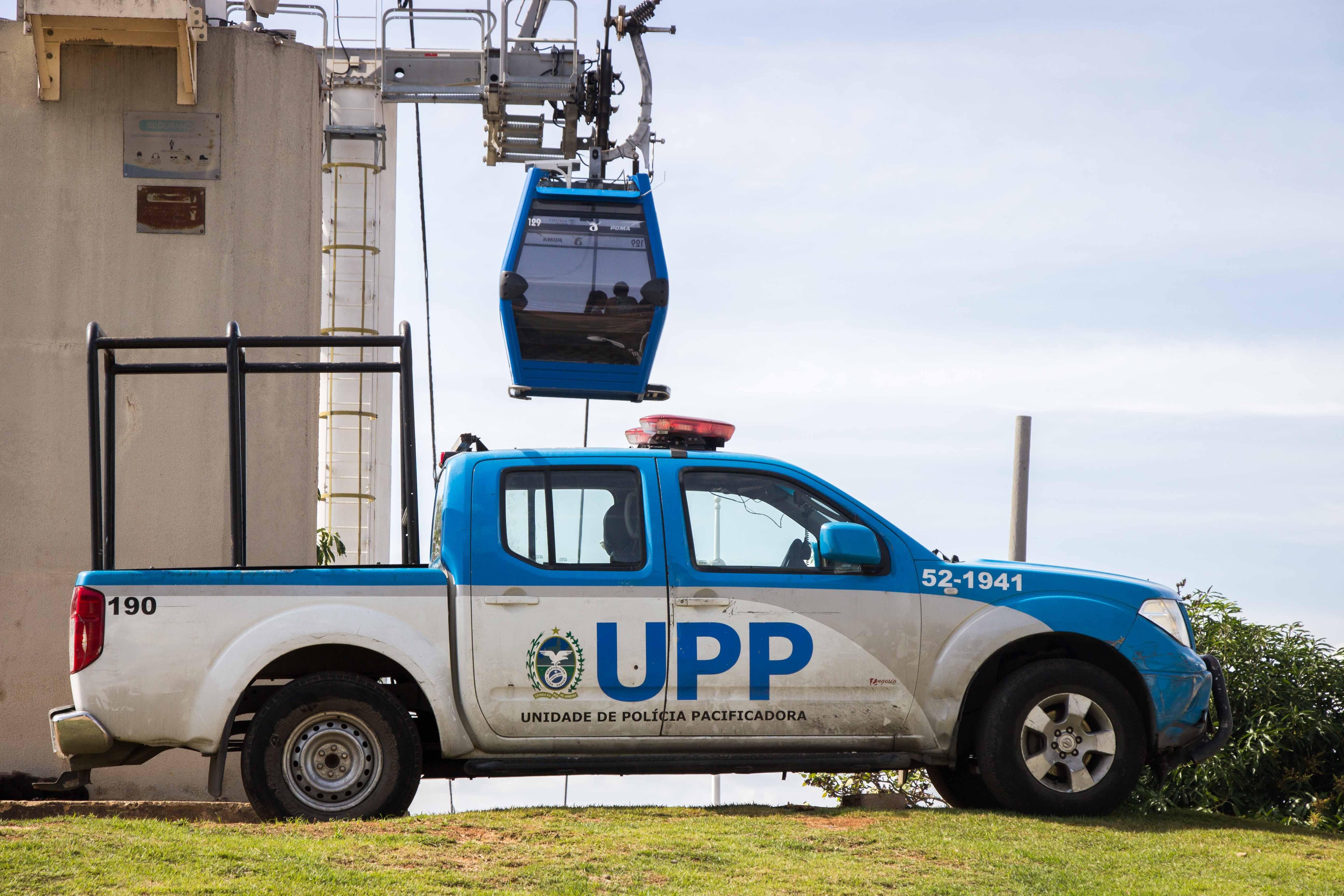 Estações do Teleférico serão transformadas em bases da UPP no Complexo do Alemão