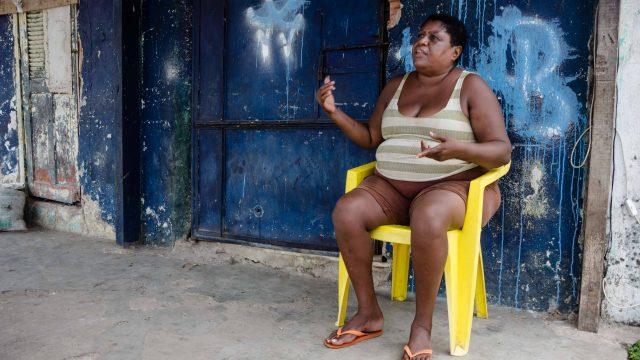 Moradora, Maria Alice Pereira de Moraes - Foto: Renato Moura/Voz Das Comunidades