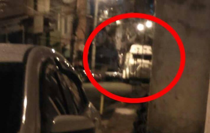 """""""Caveirão Branco""""circula pelo Alemão durante tiroteio nesta noite de sábado"""
