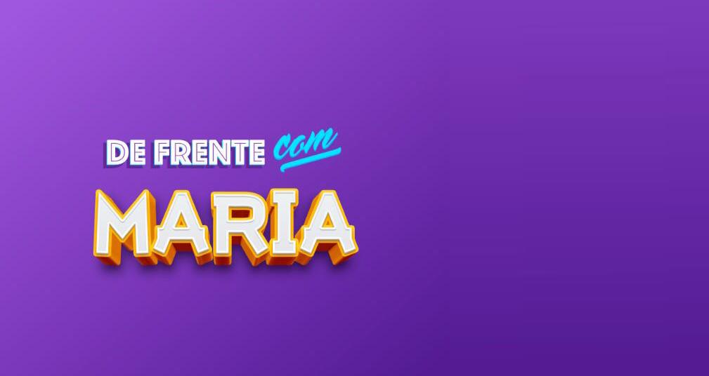 Jornal Voz das Comunidades apresenta 'De frente com Maria'