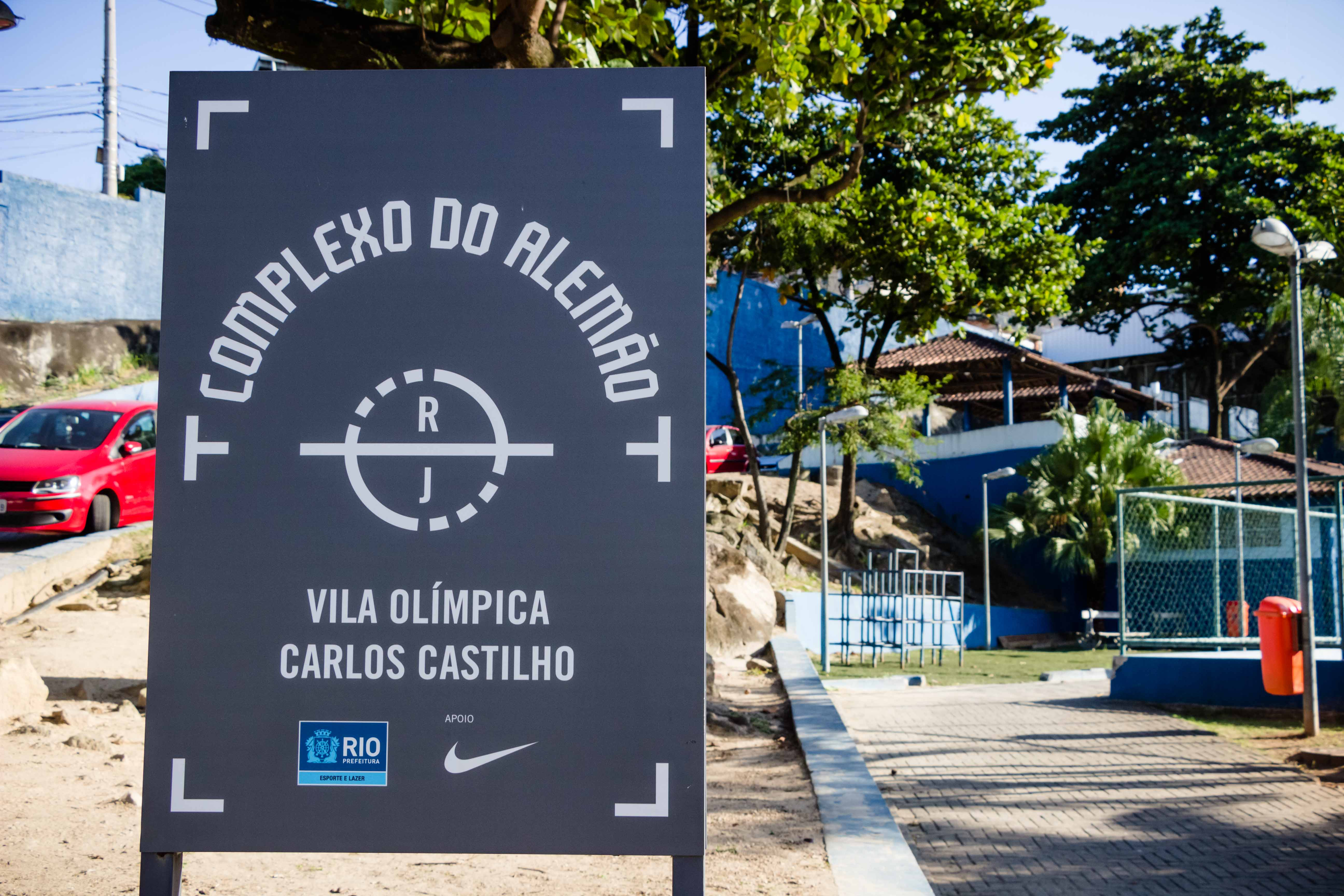 Vila Olímpica Carlos Castilho do Complexo do Alemão reabre nesta quinta-feira (03/08)