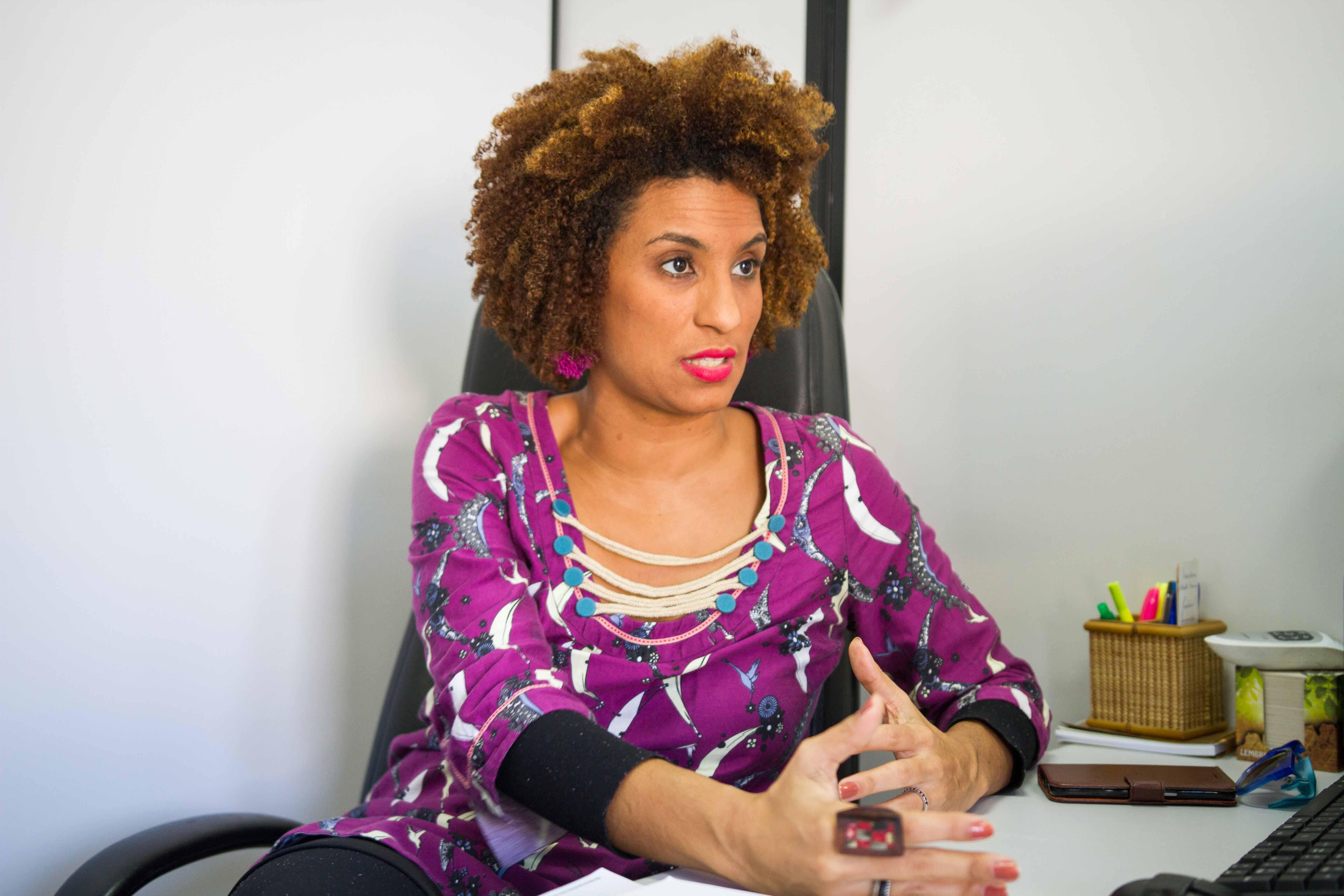 Mãe, preta, favelada e vereadora: Marielle Franco