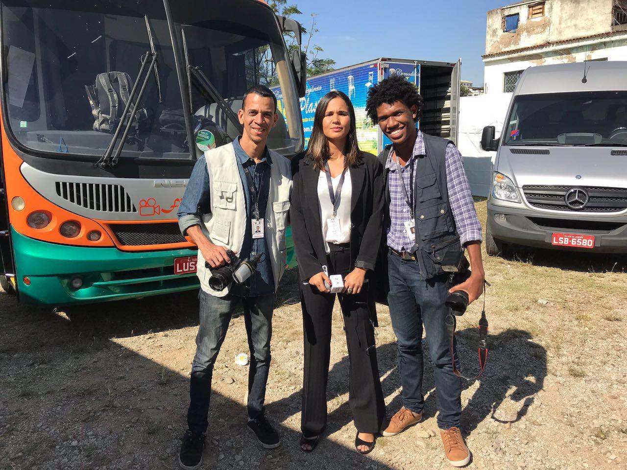 Equipe do Jornal Voz das Comunidades fará participação na novela 'A Força do Querer'