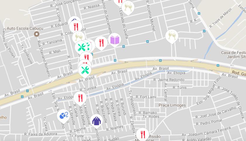 Morador cria site para mapear estabelecimentos na Vila Kennedy