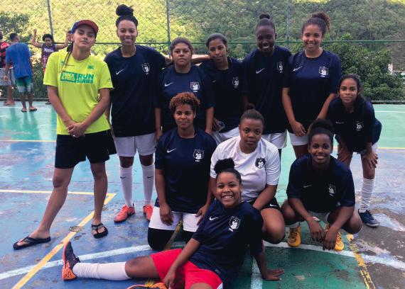 Nova Geração é o time feminino do Morro do Borel que venceu o preconceito